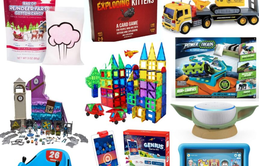 Top Stocking Stuffer & Christmas Gifts for Boys