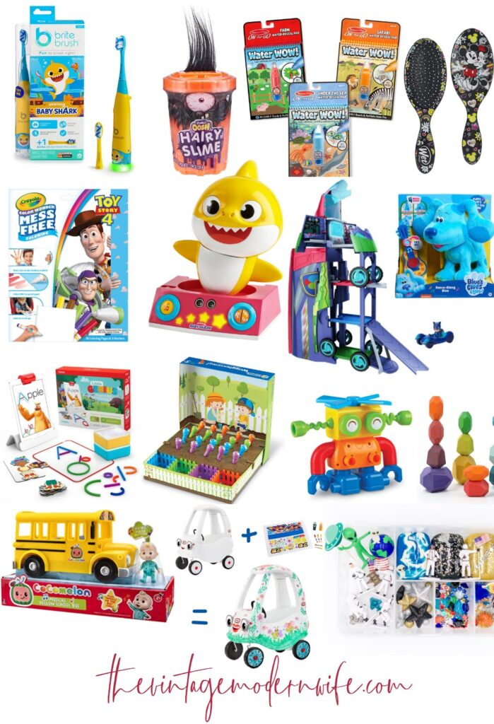 Looking for the top Christmas gifts for toddlers? These gifts have all been tried and reviewed so you know exactly what is best about them!