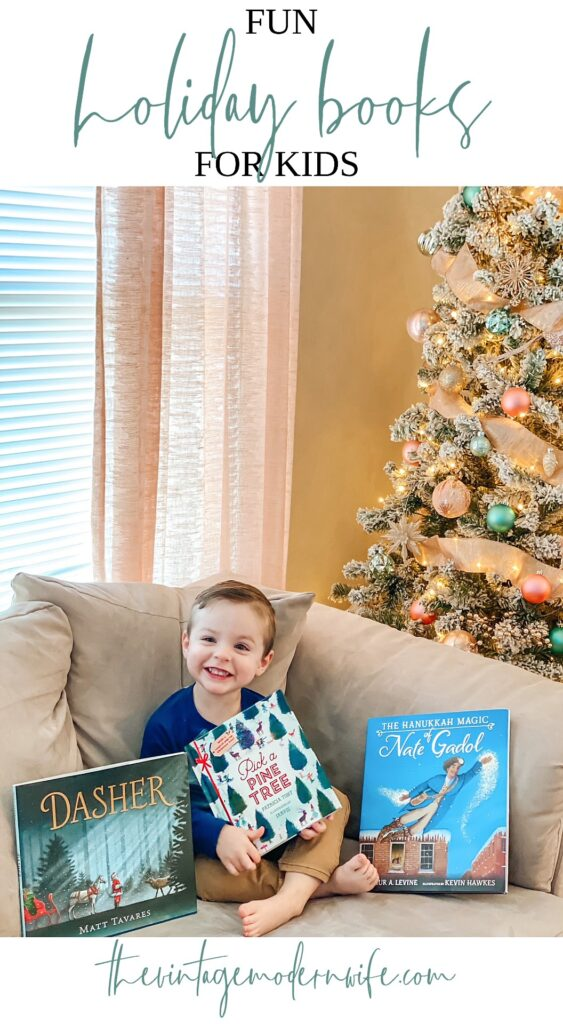 On the hunt for fun holiday books for kids? These top books are perfect holiday gifts or stocking stuffers!