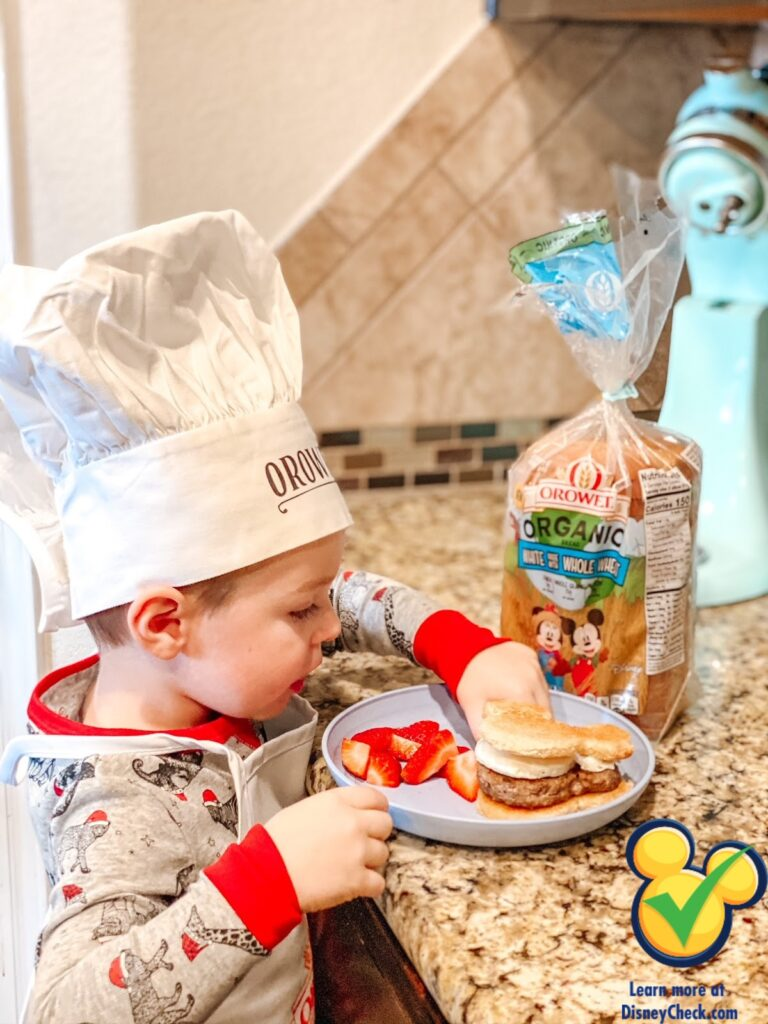Have you started making memories in the kitchen with your kids? Here are some easy and fun ways you can make fun memories together! #MickeyTrueOriginal